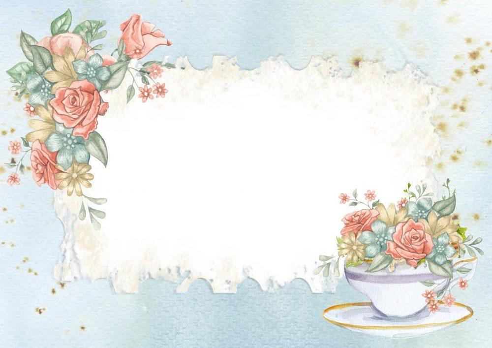 carta da parati floreale